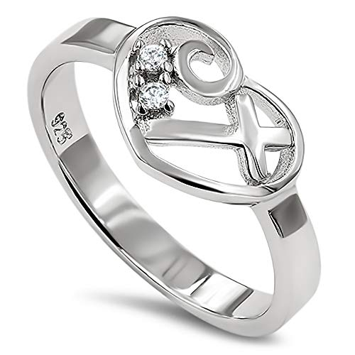 925 Sweetheart Silver Ring,