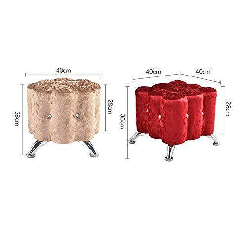 Conveniente 38 Dimensione Taglia moda Unica Rose Rotondo 40 Stoccaggio colore Sedia Yingsssq Europea Rose Home Cm Sgabello x06Fwv6qO