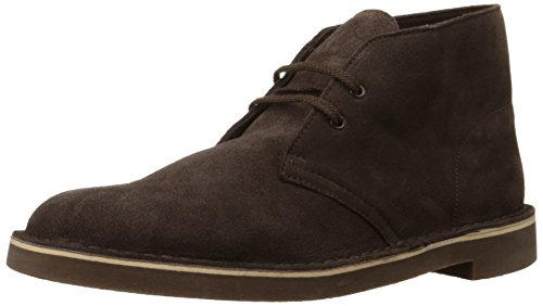 Clarks Men's Bushacre 2 Chukka Boot,Brown Suede,10 M US