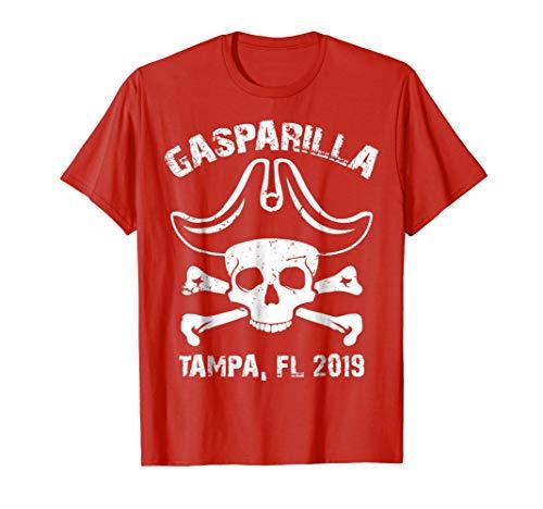 Jolly Roger Gasparilla TShirt, 2019 Tampa Florida Pirate]()
