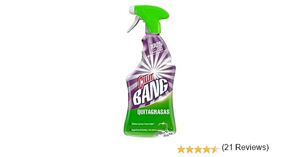 Cillit Bang Quitagrasas - Limpiador grasa y cocina spray, pack de 3 x 750 ml: Amazon.es: Salud y cuidado personal