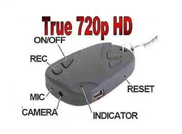 DTY Comercio 720p HD Cámara Espía Llave Llavero llavero ...