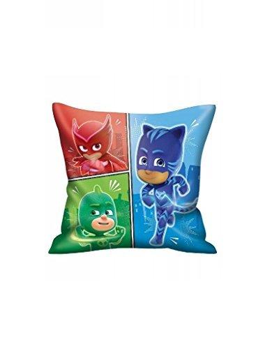 Kids P J Masks 35 X 35 CM Pillows/P J Masks Square Cushion by P J Masks