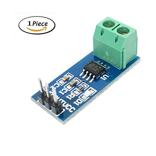 Mix Module (Ebotun 1PCS Hall Current Sensor Module ACS712 module 5A 20A 30A Hall Current Sensor Module for arduino 5A/20A/30A ACS712 (30A))