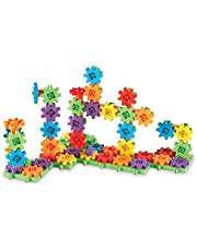 Learning Resources Gears Gears Gears,100-Piece Deluxe Building Set, STEM Construction Toy Set, 100 Pieces, Ages 3+
