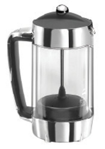 b8af2838dd7 Smartcafe hot cafetiere chrome 8 cup: Amazon.co.uk: Kitchen & Home