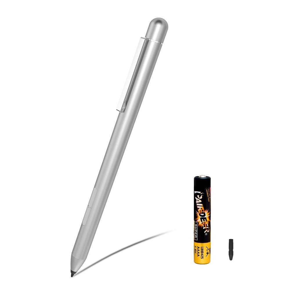 Stylus Active Pen for HP Pavilion x360 11m-ad0 14M-ba0 14-cd0 15-br0; HP Envy x360 15-bp0 15-bq0, x360 15-cn0, X2 12-e0xx, X2 12g0xx; HP Spectre x360 13-ac0xx 15-blxxx
