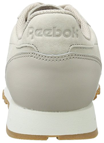 Reebok Cl Leather SG, Scarpe da Fitness Uomo Beige (Sand Stone/Chalk-gum)