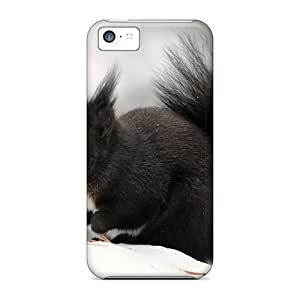 Forever Collectibles Sweet Black Squirrel Hard Snap-on Iphone 5c Cases