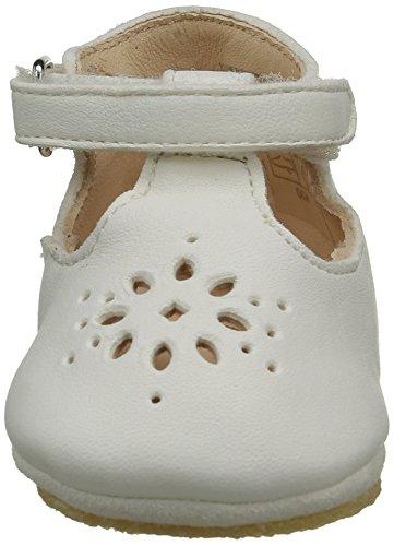 Easy Peasy LILLYP - Zapatillas de casa Bebé-Niños Blanco - Weiß (007 Blanc)