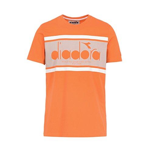 Ss Per 40048 T Dorato Uomo Diadora Bl Papavero shirt qxa4RE