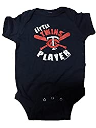 Minnesota Twins MLB Little Player Newborn Infant Creeper (0-6 Months)