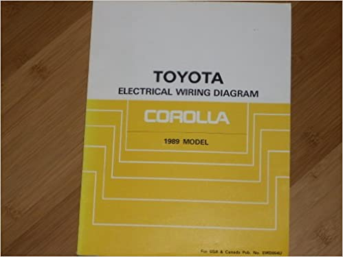Toyota Corolla Electrical Wiring Diagram: Toyota: Amazon.com: BooksAmazon.com