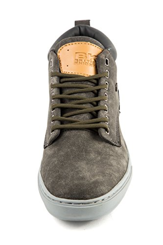 British Knights - Zapatillas de Material Sintético para hombre Gris gris 41