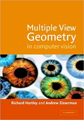Multiple View Geometry in Computer Vision 9780521623049 Geometry at amazon