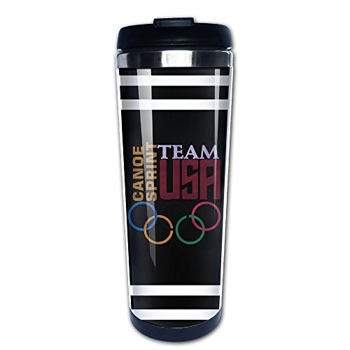 Vowoi Rio Olympic Games 2016 USA Canoe Sprint Stainless Steel Mug / Coffee Thermos & Vacuum Flask