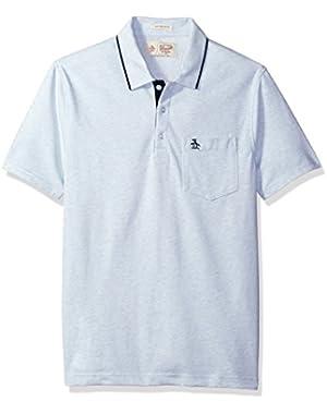 Men's Jaspe Fashion Meal 3 Button Polo