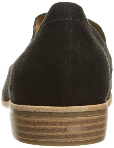 G.H. Bass Co. Women's Estelle Pointed Toe Flat Black 5AEtkz0
