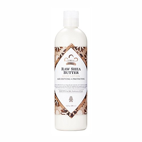 (Nubian Heritage Body Lotion Raw Shea and Myrh (Pack of 2))