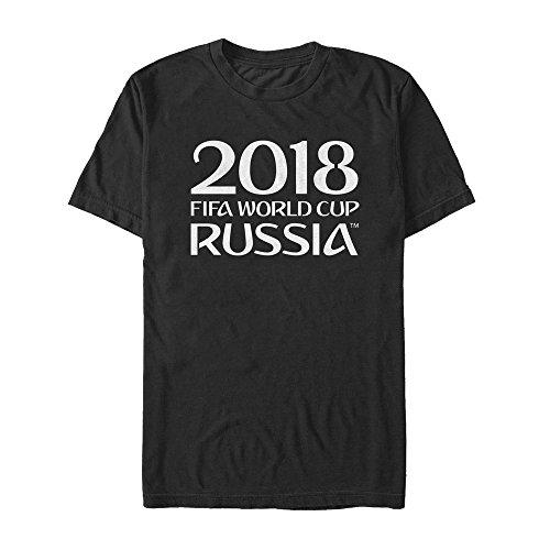 Classic Logo Black Tee - Fifth Sun FIFA World Cup Russia 2018 Men's Classic Logo Black T-Shirt