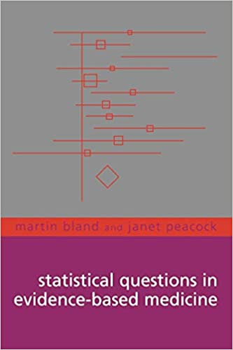 Statistical Questions In Evidence-Based Medicine, 1st Edition