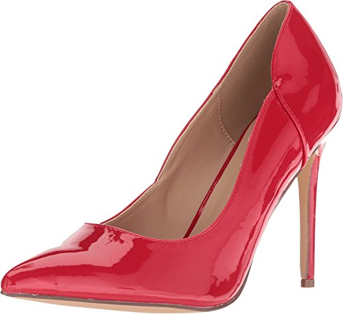 Steve Madden Women's Zary Red Patent 8 M ()