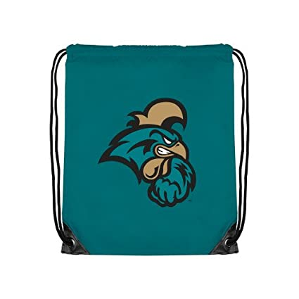 CollegeFanGear UNC Wilmington Navy Drawstring Backpack Official Logo