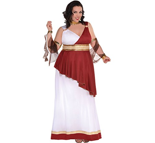 Amscan Adult Imperial Empress Costume - Plus XXL (18-20), -