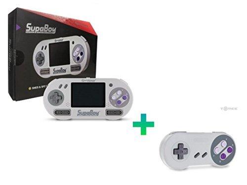 Hyperkin SUPABOY Portable Pocket SNES Console + Free controller
