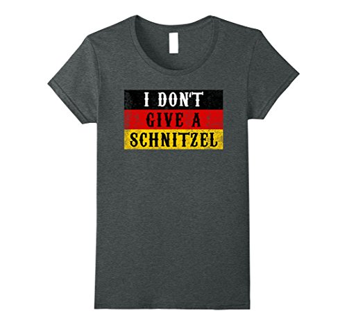Womens Funny Schnitzel Oktoberfest Shirt German Flag Gift Small Dark (Oktoberfest Outfits For Women)