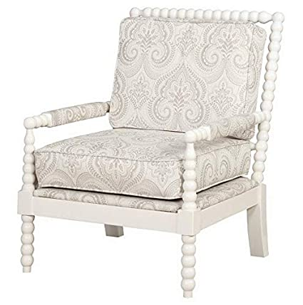Amazon.com: Hebel Sussex Spindle Wood Frame Accent Chair | Model ...