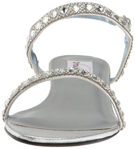 Women Sandal Jasmine Silver Dyeables Wedge Womens Inc BwExqZT