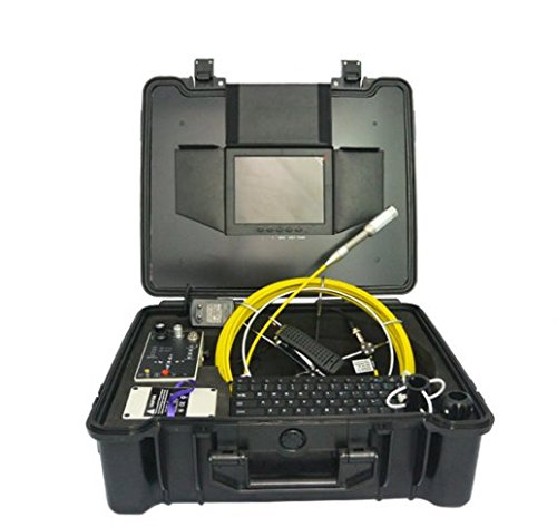 MABELSTAR 512Hz transmitter water well chimney 20m fiberscope cable inspection camera