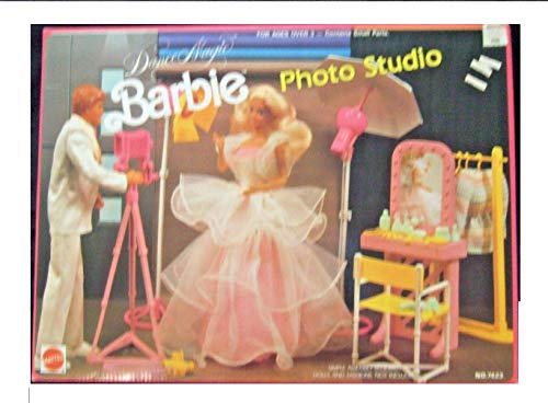 BARBIE Dance Magic PHOTO STUDIO Playset (1989 Arco Toys, Mattel) (Barbie Photographer)