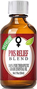 Best PMS Relief Blend Oil - 100% Pure PMS Relief Blend Essential Oil