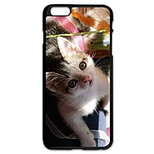 IPhone 6 Plus Case/Printed Cute Cat Case Cover For IPhone 6 Plus by Maris's Diary