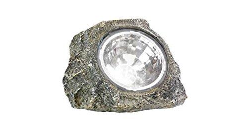 Energy Saving Solar Powered Stone Rock Spot Light by Onlinez Trading