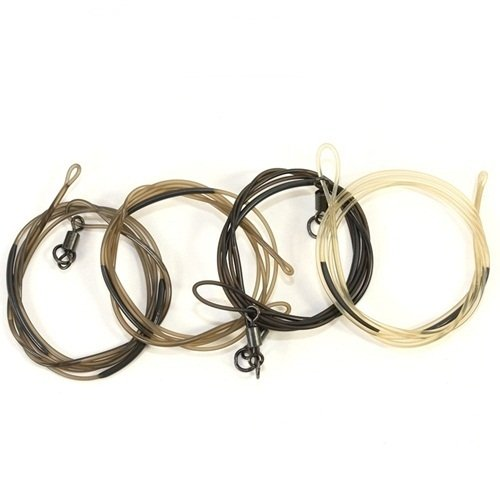 Korda Safe Zone Clay Leader Ring Swivel 1m/30lb/13.6kg fishing (Korda Safe)