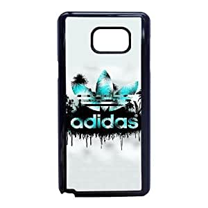 Hard Back Cover Protector Samsung Galaxy Note 5 Cell Phone Case Black Adidas Tixzeg Design Durable Phone Cases