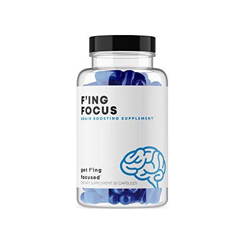 F'ing Focus - Focus, Brain + Memory Boosting Nootropic Supplement