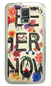 Be Here Now Samsung Galaxy S5 Transparent Sides Hard Shell Case by Sakuraelieechyan by ruishername