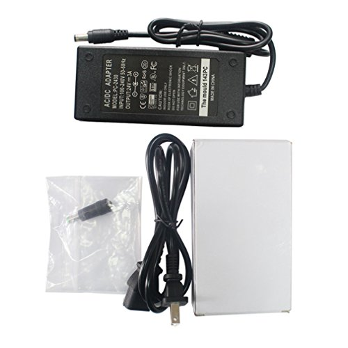 24V AC DC Adapter Charger Power Supply for Zebra ZP550 ZP450 GX420d GK420d GK420t GX420t GX430T GT810 GC420t HC100 Label Printer by For Zebra (Image #1)