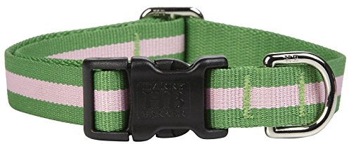 Harry Barker Eton Collar - Pink & Green - Small - 6-11 inch