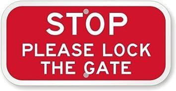Hogan234Tom Stop: por Favor, bloquea el Cartel de la Puerta ...