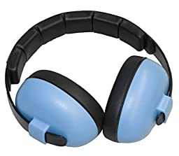 Baby Banz EMBB Hearing Protection, 0-2 Years, Blue