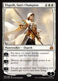 Magic: the Gathering Elspeth, Sun39;s Champion - Duel Decks: Elspeth vs Kiora - Foil by Magic: the Gathering