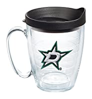 Tervis NHL Dallas Stars Primary Logo 16oz Clear Mug with Black Lid