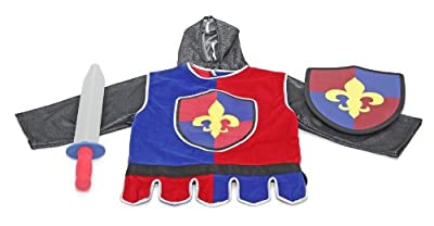 Knight Role Play Costume Set Melissa & Doug Toys 4849 from Melissa & Doug