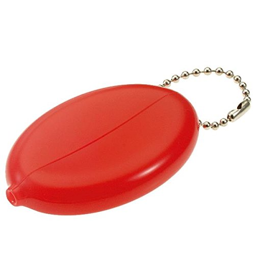 Plastic Squeeze Coin Purse (Lucky Line Assorted Squeeze Coin Holder Key Chain (94101))