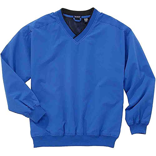 (Rivers' End Mens Lined Microfiber Windshirt Outerwear Blue)